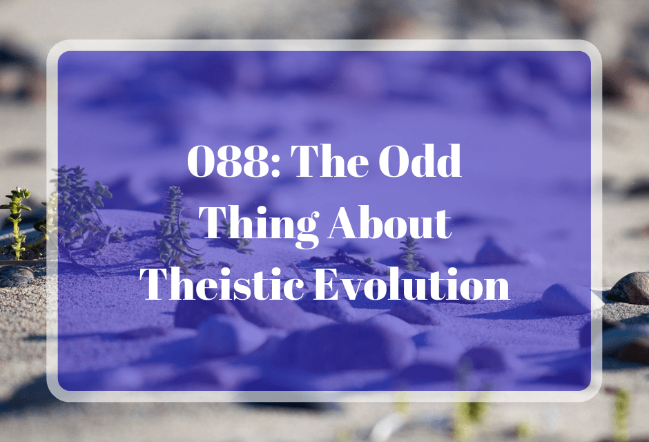 088: The Odd Thing About Theistic Evolution