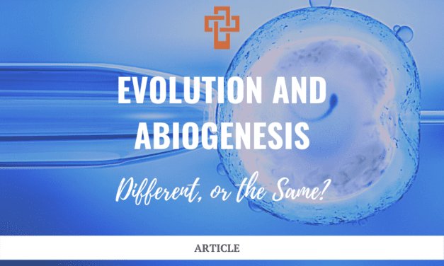 Evolution and Abiogenesis: Different, or the Same?